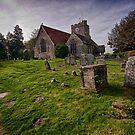 All Saints Waldron by Dave Godden