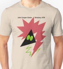 John Cooper Clarke Directory 1979 Unisex T-Shirt