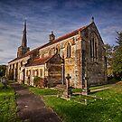St Mark The Evangelist Hadlow Down  by Dave Godden