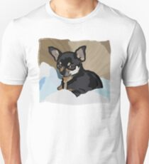 Chihuahua in Blankets Unisex T-Shirt