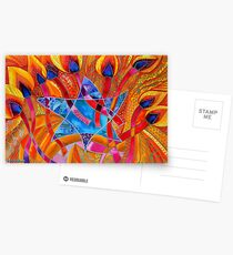 BIG LIGHT - FOR HANUKKAH Postcards