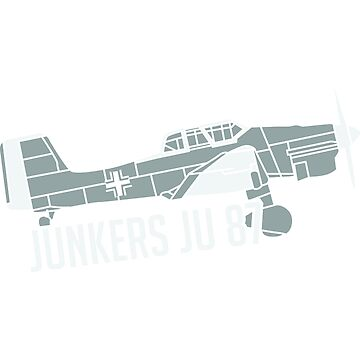 Stuka Junkers Ju87 fighter jet dive bomber WWII German gift model by ArtOfCopenhagen