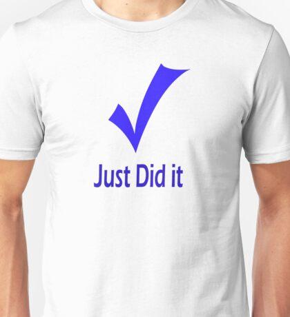 Just Did It - Tiger T-Shirt
