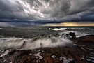Storm over Port Phillip Bay by Jim Worrall