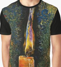 Candle Flame Graphic T-Shirt