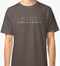 The Shadow | Music Composed and Conducted by Jerry Goldsmith Classic T-Shirt