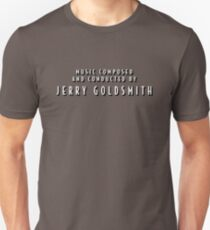 The Shadow | Music Composed and Conducted by Jerry Goldsmith Unisex T-Shirt