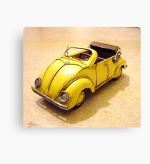yellow bug Canvas Print