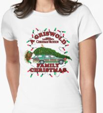 National Lampoon's - Christmas Tree Car Variant Women's Fitted T-Shirt