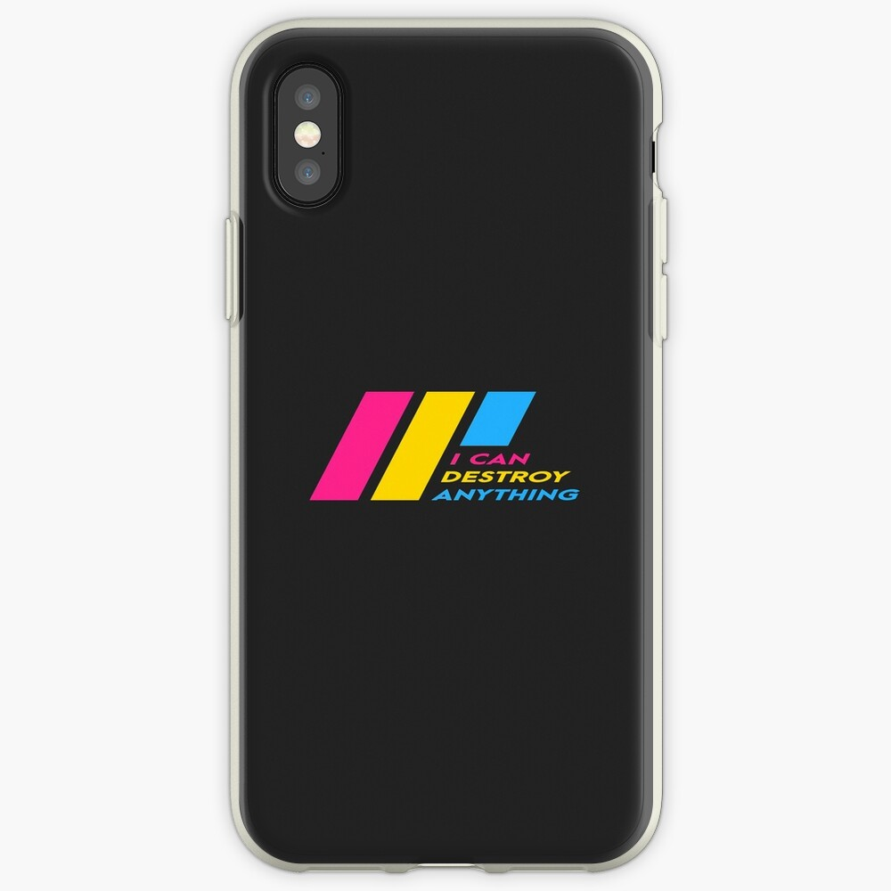 [OLD] Pride Stripe: I Can Destroy Anything iPhone Case & Cover