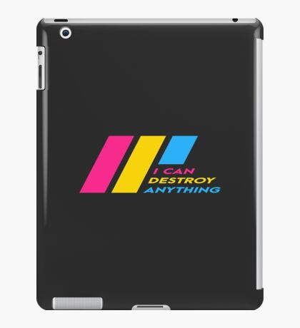 [OLD] Pride Stripe: I Can Destroy Anything iPad Case/Skin