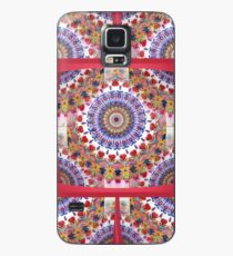 Style Old Colored Lace Fall Into Winter Design at Green Bee Mee Case/Skin for Samsung Galaxy