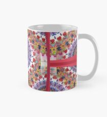 Style Old Colored Lace Fall Into Winter Design at Green Bee Mee Mug