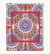 Style Old Colored Lace Fall Into Winter Design at Green Bee Mee iPad Case/Skin