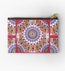 Style Old Colored Lace Fall Into Winter Design at Green Bee Mee Studio Pouch