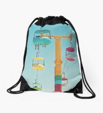 Gondolas - Santa Cruz Drawstring Bag