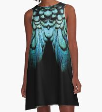 feathery necklace A-Line Dress