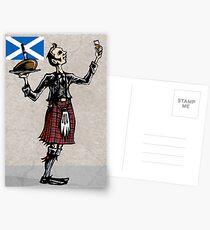 Robbie Burns Day Postcards