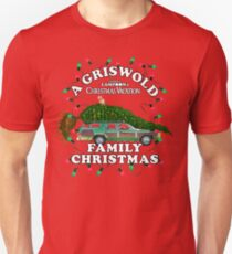 National Lampoon's - Weihnachtsbaumauto Slim Fit T-Shirt