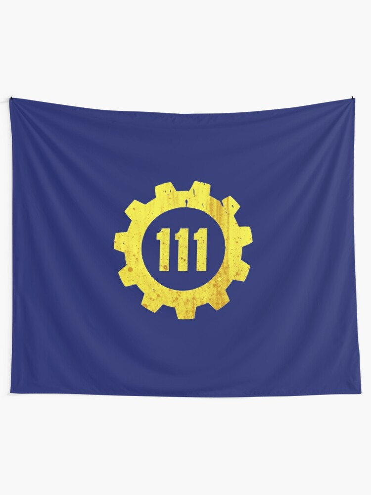 Fallout 4 111 vault   Wall Tapestry