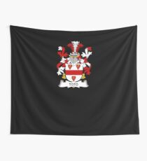 Toto Coat of Arms - Family Crest Shirt Wall Tapestry