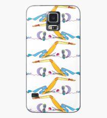 Schwimmen… mit deinen Freunden macht es noch mehr Spaß! Hülle & Klebefolie für Samsung Galaxy