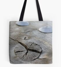 Knot in Wood Tote Bag
