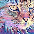Mystical, Magical Cat by TerryIKON