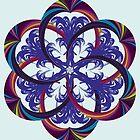 5 Alians in mandala art by hutofdesigns