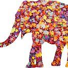 wundervoller Elefant im Herbst - Gewand, Afrika von rhnaturestyles