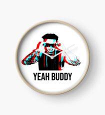Dj Pauly D Yeah Buddy 3D Clock