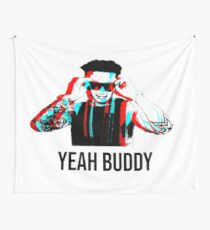 Dj Pauly D Yeah Buddy 3D Wall Tapestry