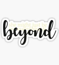 beyond leon bridges lyrics Sticker