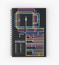 Religious Afterlife Map  Spiral Notebook