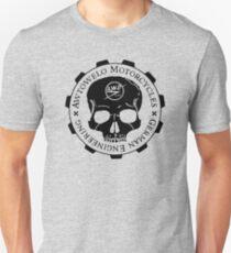 Awtowelo Motorcycle Skull Unisex T-Shirt