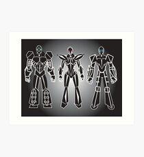 ROBOT CHARACTERS Art Print