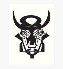 Letter bull Art Print