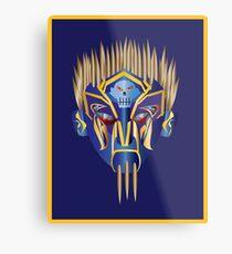 Masked Spiker Metal Print