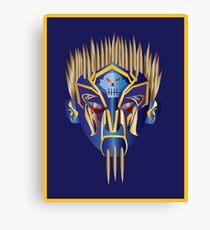 Masked Spiker Canvas Print