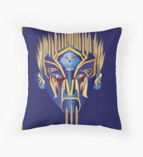 Masked Spiker Throw Pillow