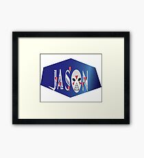 jason! Framed Print
