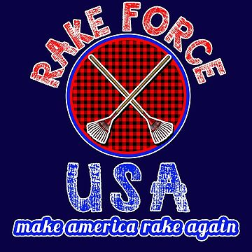 RAKE FORCE USA by Greenbaby