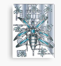 computer bugs Metal Print