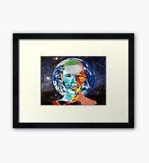 Eemental god Framed Print