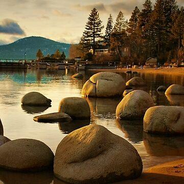 Tahoe Shore by lenzart