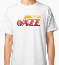 Utah Jazz Orange  Classic T-Shirt
