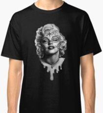 Marilyn Monroe Sugar Skull Classic T-Shirt