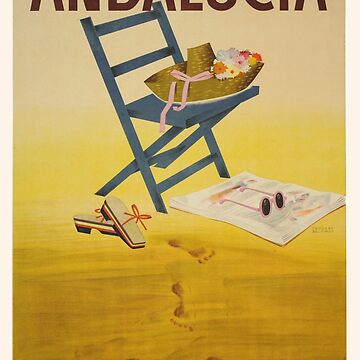Vintage poster - Andalucia, Spain by mosfunky