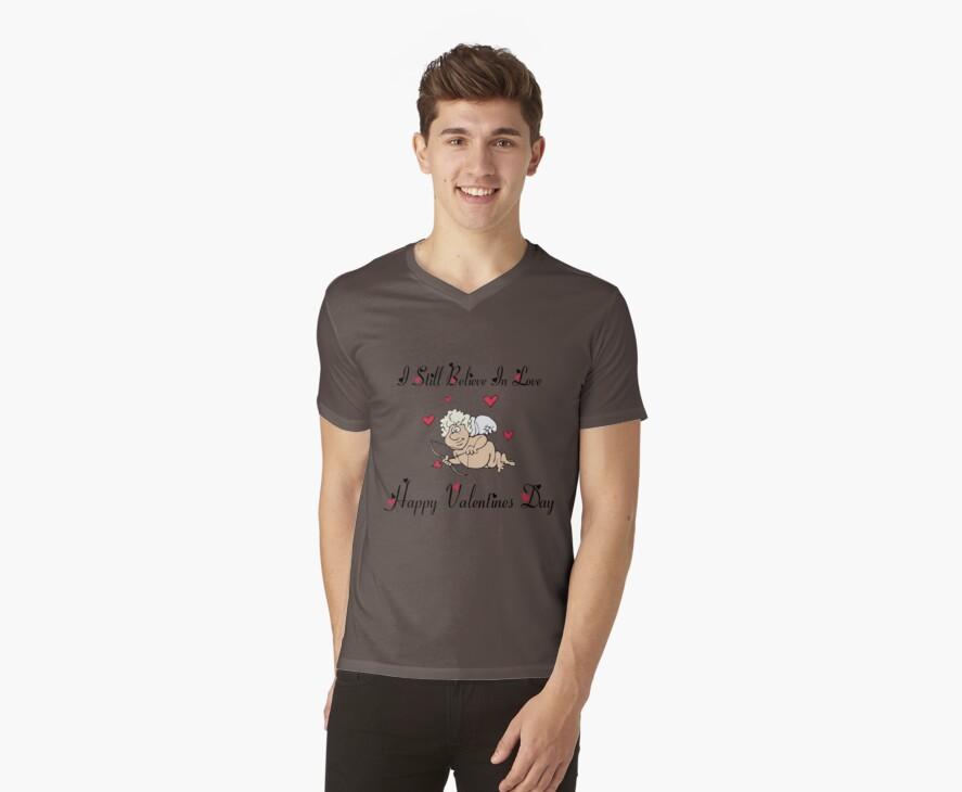 """Valentine's Day """"I Still Believe In Love"""" Women's by HolidayT-Shirts"""