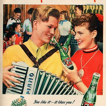 Vintage poster - Soda Advertisement by mosfunky